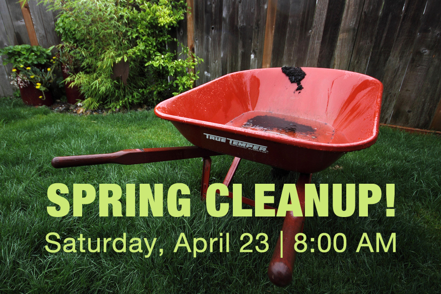 Spring cleanup at Messiah!