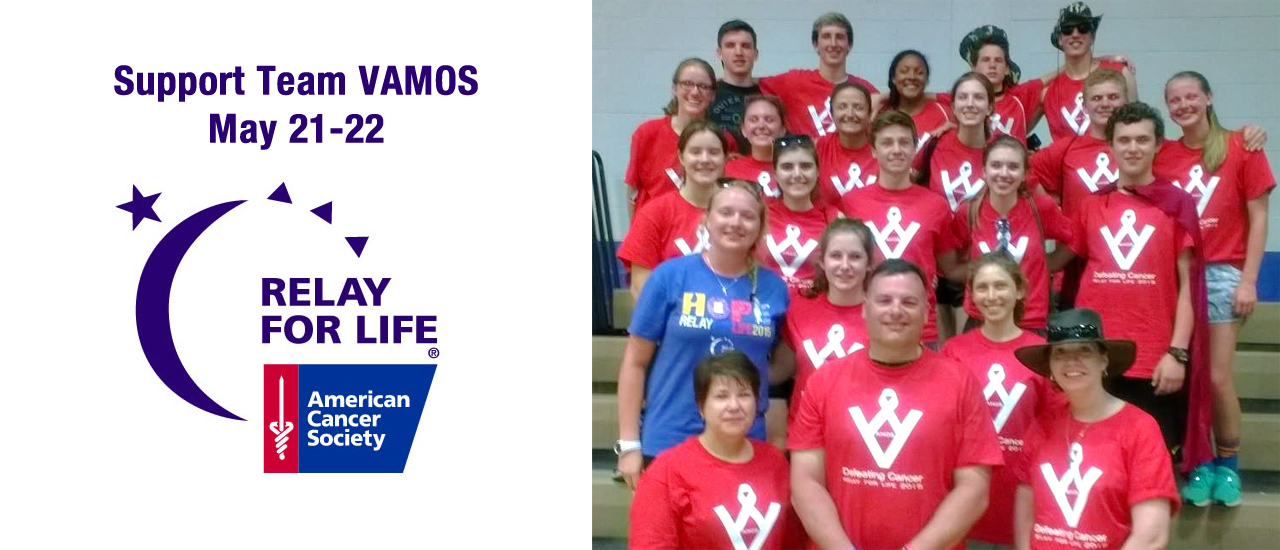 Support Team VAMOS at Relay for Life!